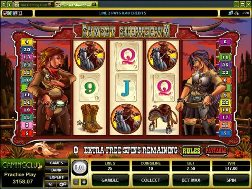 Sunset Showdown Slot