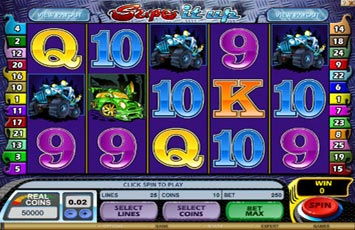 Supe It Up Slot Game Microgaming