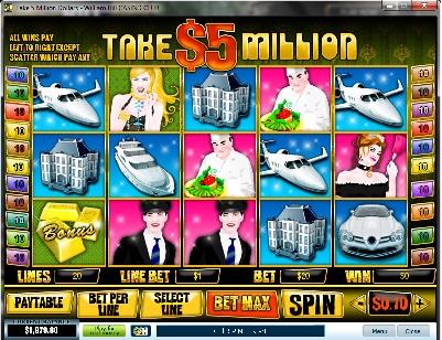 5 Million Winning Streak Slot