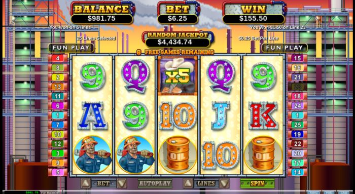 Texan Tycoon slot game review