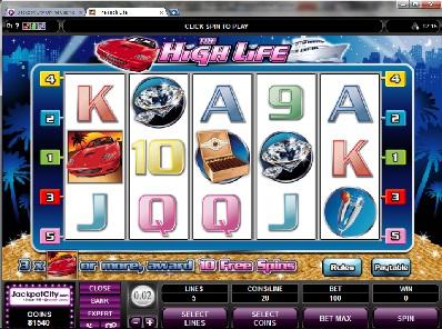 The High Life Slot