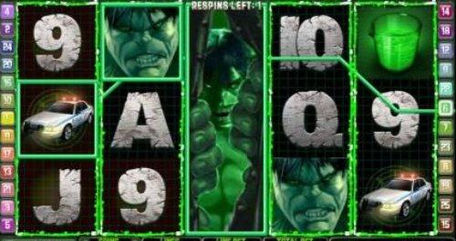 The Incredible Hulk slot game