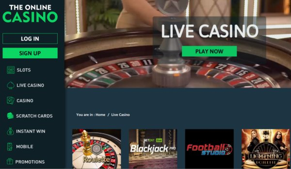 The Online Casino review