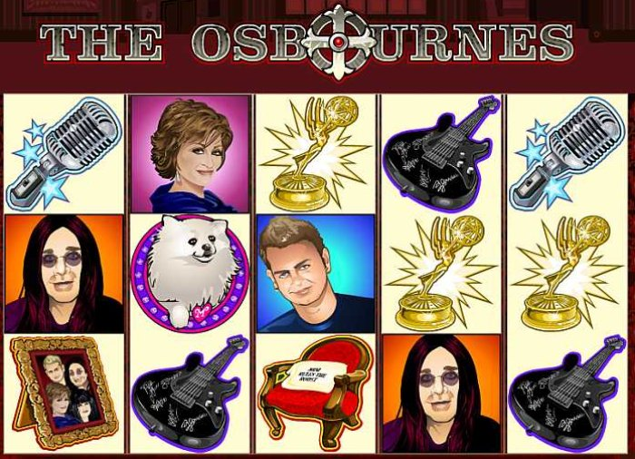 The Osbournes slot game by Microgaming