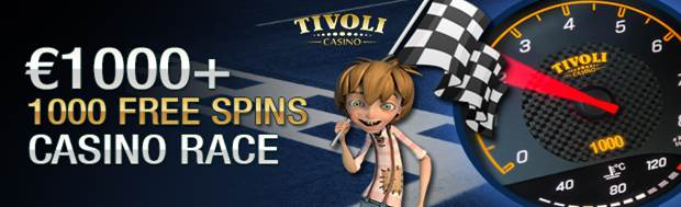 1000 Free Spins Casino Race
