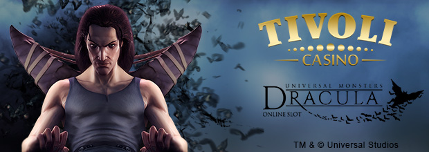 Tivoli Casino - 25 No Deposit Free Spins on Dracula