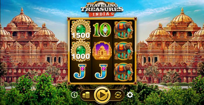 Traveling Treasures India slot game