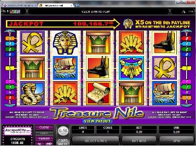 Treasure Nile Slots