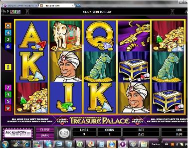 Treasure Palace Slot