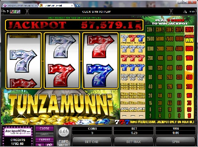Three Reel Slot Machine game
