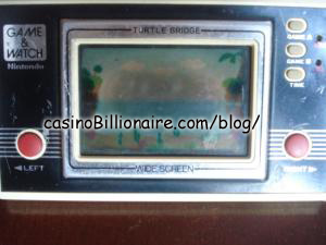 Turtle Bridge Nintendo Game & Watch