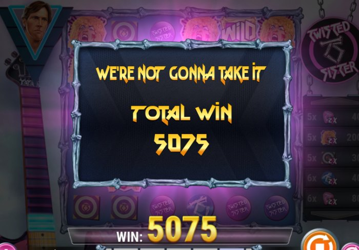 Twisted Sister slot game review - free play