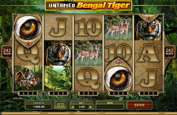 Untamed Bengal Tiger Slot Game