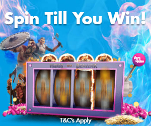 Free Spins on Vikings go Berzerk