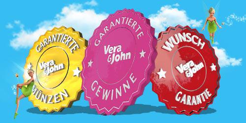 Vera John Online Casino auf Deutsh