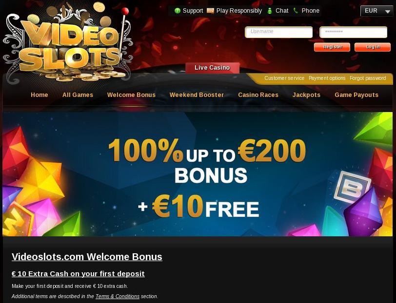 online slots casino video slots