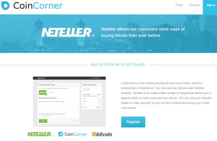Which Bitcoin Wallet accept Neteller deposits?