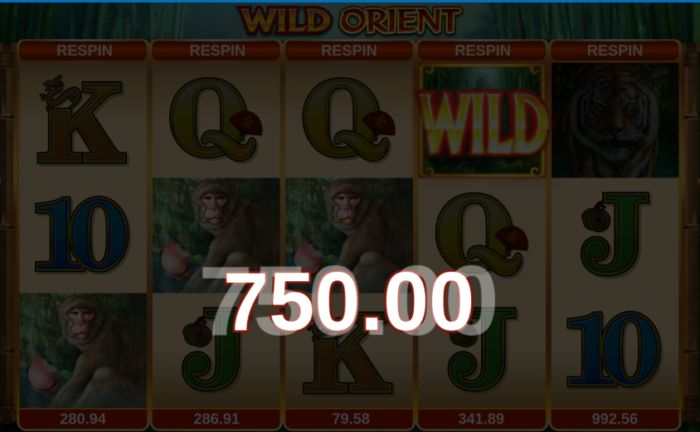 Wild Orient slot game Microgaming