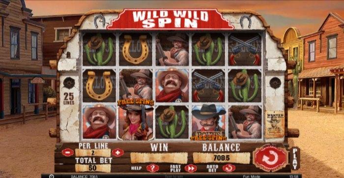 Wild Wild Spin slot game
