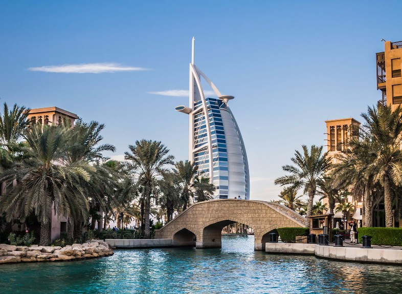 Promotion to win a trip to Dubai
