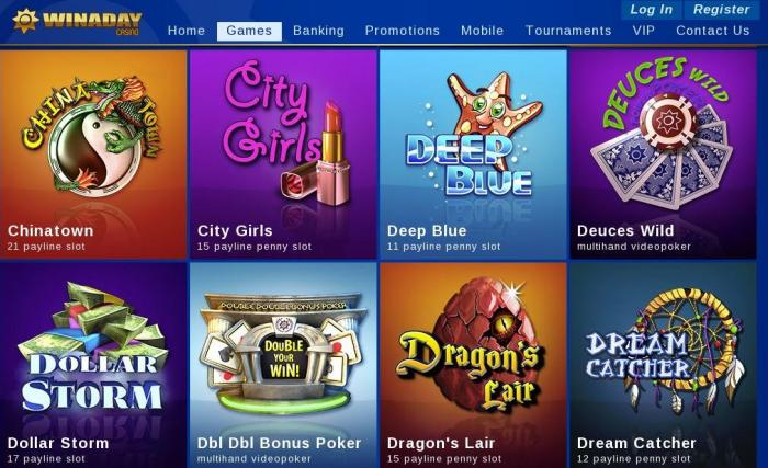 winaday casino online