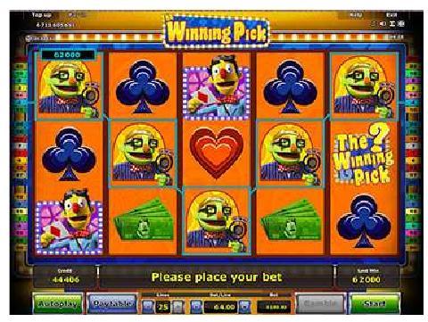 Winning Pick slot game - Stargames