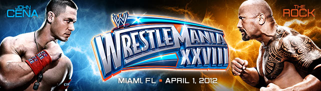 WRESTLEMANIA XXVIII MIAMI