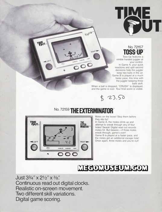Nintendo Game & Watch Advertisement BALL