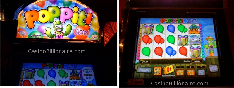 Poppit Video Slot - Bally's