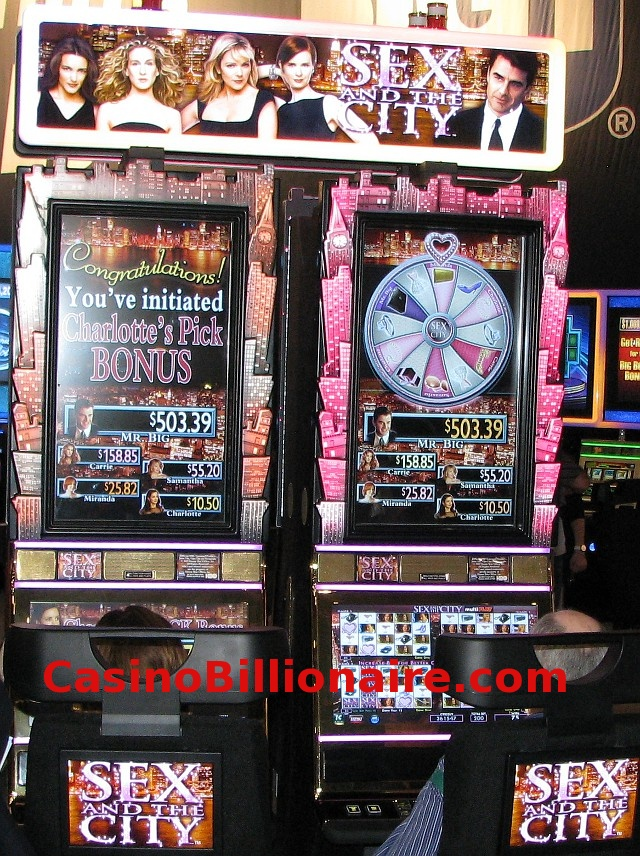 Sex and the City Video Slot casino game