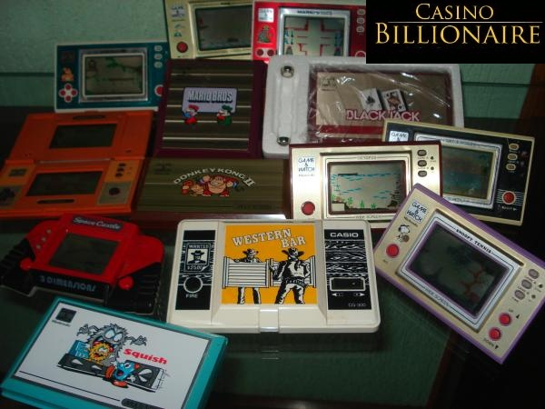 Nintendo Game Watch collection