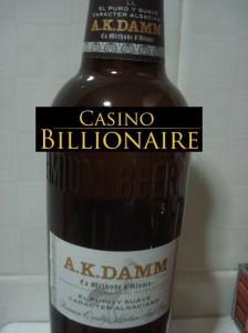 AK Damm beer