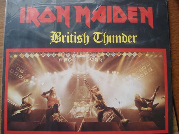 Iron Maiden - British Thunder - rare LP