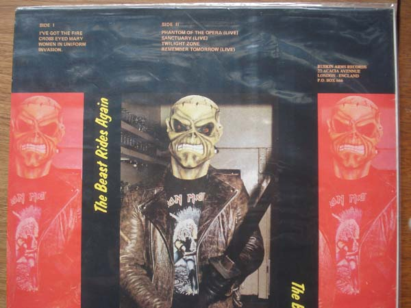 Iron Maiden - British Thunder - rare LP