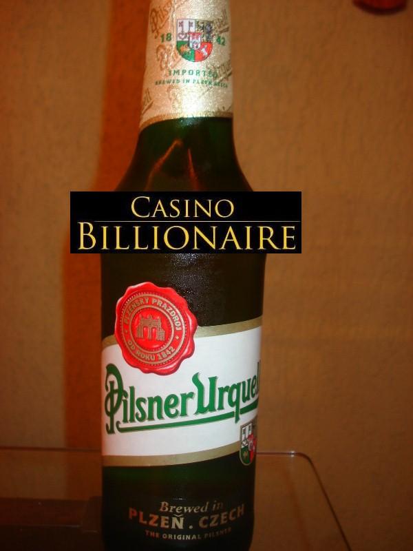 Pilsner Urquel beer