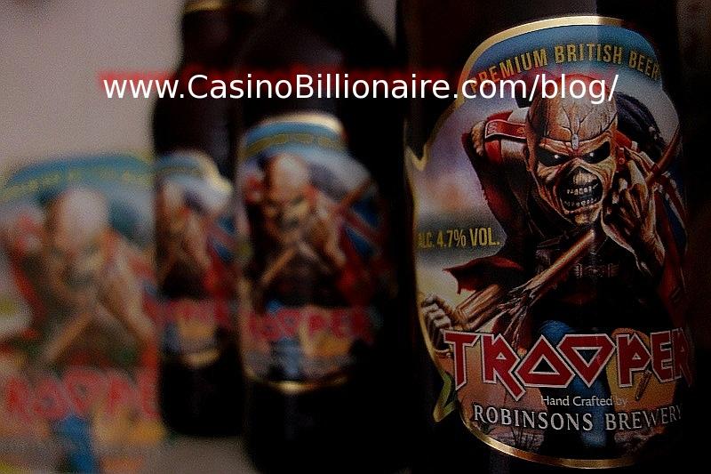 The Trooper beer - Iron Maiden beer picture
