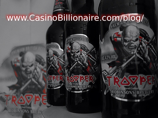 The Trooper beer - Iron Maiden beer picture