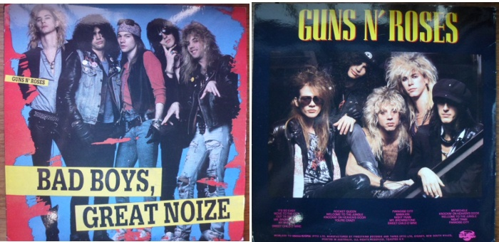 Guns n' Roses - Bad Boys, Great Noise bootleg