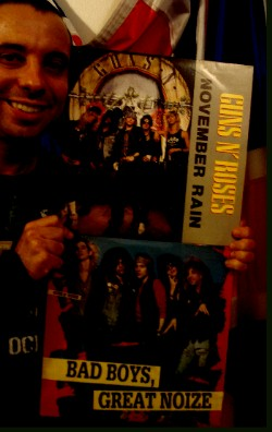 Guns n' Roses bootlegs LP