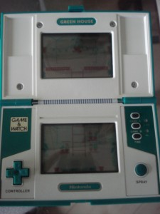 Nintendo Game Watch Greenhouse