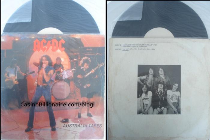 AC/DC Australia Tapes