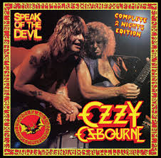 Ozzy Osbourne - Speak of the Devil - complete 2 nights