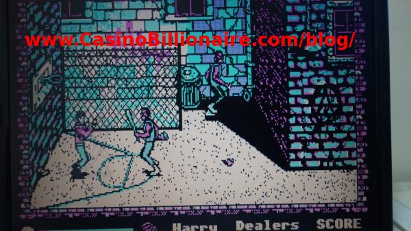 Manhattan Dealers game - vintage video game