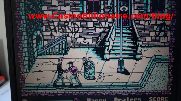 Manhattan Dealers game - vintage video game