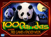 Play 100 Pandas Slots game IGT