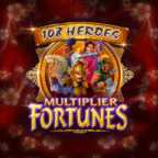 Play 108 Heroes Multiplier Fortunes Slots game Microgaming