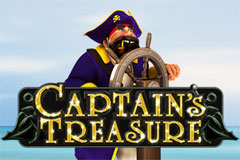 Captains Treasure Slots game Playtech