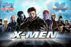 Play X Men Slots game Playtech