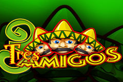 Play Tres Amigos Slots game Playtech