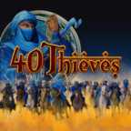 Play 40 Thieves Slots game Merkur